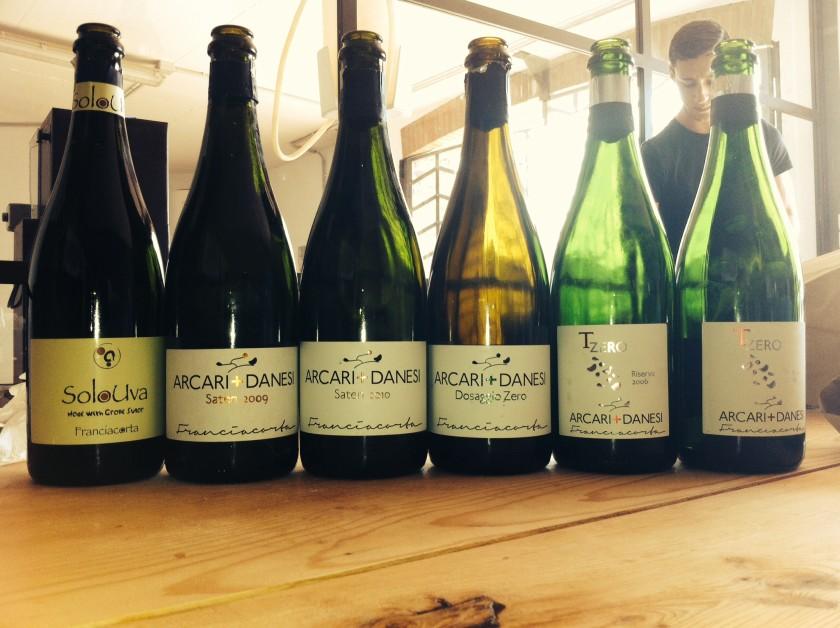 Arcari e Danesi: bottiglie in degustazione