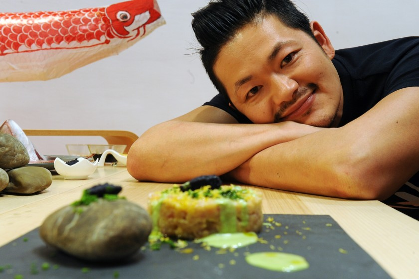 leZilli- Chef Hiro cucina germogli di bambù
